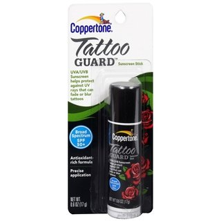 Coppertone Tattoo Guard Stick SPF 50+ Sunscreen