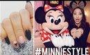 Minnie Inspired Nail Art   #MinnieStyle