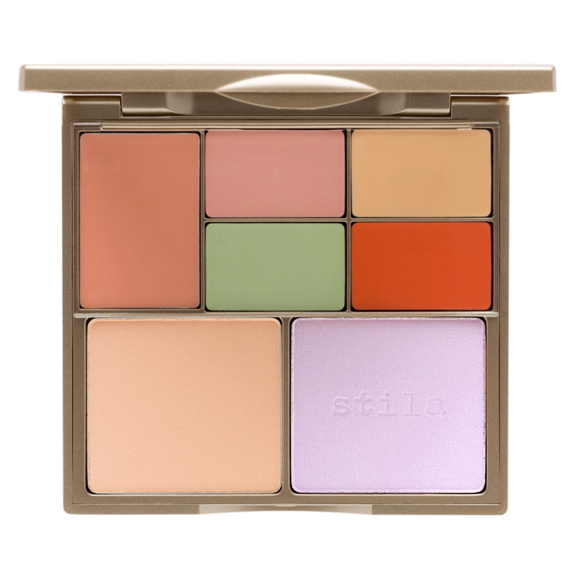 Stila Correct & Perfect All-In-One Color Correcting Palette product smear.