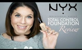 BEST NEW DRUGSTORNYX Total Control Foundation Review | @girlythingsby_e