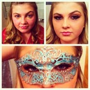 Make up & mask I did.