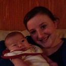 first time I got to hold my baby cousin LEELAND James