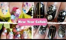 Glittertastic New Year Nails collab with StaceysNailCandies