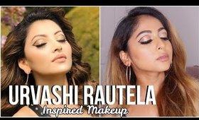 #URVASHIRAUTELA Inspired #Makeup | Graphic Eyeliner | Stacey Castanha