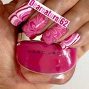 Breast Cancer Water Marble