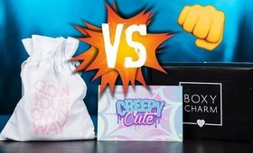 MARCH 2017 BOXYCHARM VS SEPHORA PLAY!!
