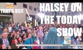 HALSEY ON THE TODAY SHOW | CONCERT VLOG
