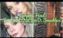 Sephora Beauty Haul! Too Faced, Kat Von D, Smashbox + Review