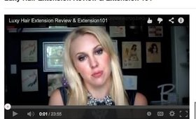 Luxy Hair Extension Review, Extension 101, and Fine Thinning Hair Tips