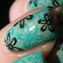 Flowery Spring manicure: Inspired by Louis Vuitton Spring/Summer 2012 Ready-To-Wear by Marc Jacobs