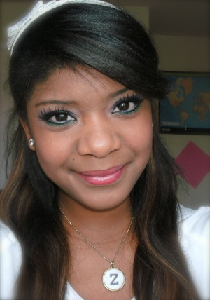 Makeup I've done inspired by Katy Perry from the 2011 Grammy's