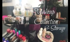 My Makeup Collection & Storage (2-20-14)