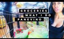 Vegan Grocery Shopping + What I Do For A Living + Eating