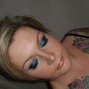 Rotal Blue Smokey Eye