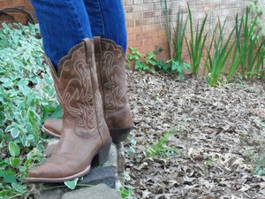 My cowboy boots are my new favorite must-have.