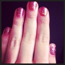 Ombre Galaxy Nails
