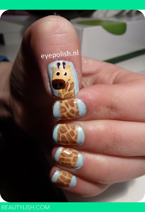 Giraffe Nail Art Nail Art Es Photo Beautylish