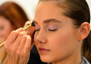 Too pretty for words pastel makeup MBFWA '12 Lisa Maree | @PRIMPED: http://bit.ly/Ig7CTF xoxo