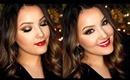 Classic Christmas Glam Makeup Tutorial | Amanda Ensing