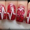 Heart pulse manicure