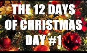 THE 12 DAYS OF CHRISTMAS: Day #1