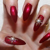 Elegant Christmas/ Holiday Nails