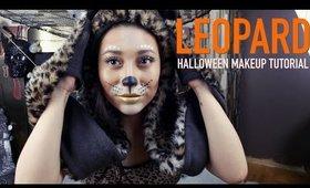 Pretty Leopard | Halloween Makeup Tutorial