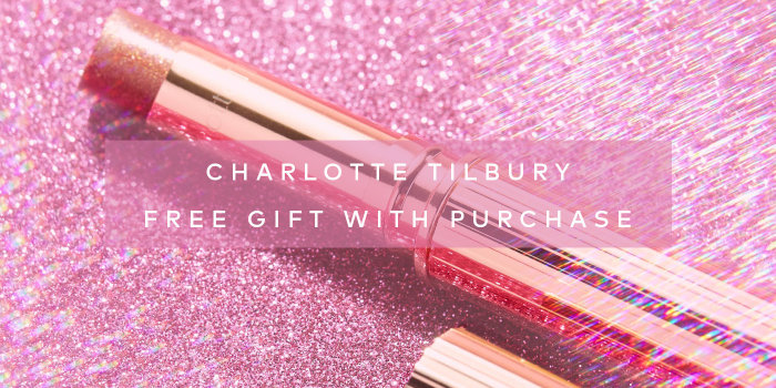 Receive a free Pillow Talk Diamonds in Lucky Diamonds with your qualifying Charlotte Tilbury purchase on Beautylish.com