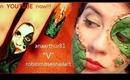 "EPIC COLLABORATION #2 anaarthur81 & robin moses PWN ""V"": nail art design and make up tutorial"