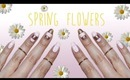 Spring Flowers | Cut Out Nail Art ♡