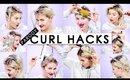10 CURL HAIR HACKS EVERY GIRL SHOULD KNOW (Parody) | Milabu
