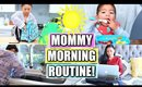 DRY SKIN MOMMY MORNING ROUTINE!