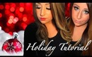 Holiday Glam Tutorial + OOTD - ft. iheartmakeup92 ♡