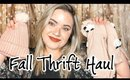 Baby & Toddler Fall Clothing Haul | Once Upon A Child
