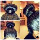 my hair bun