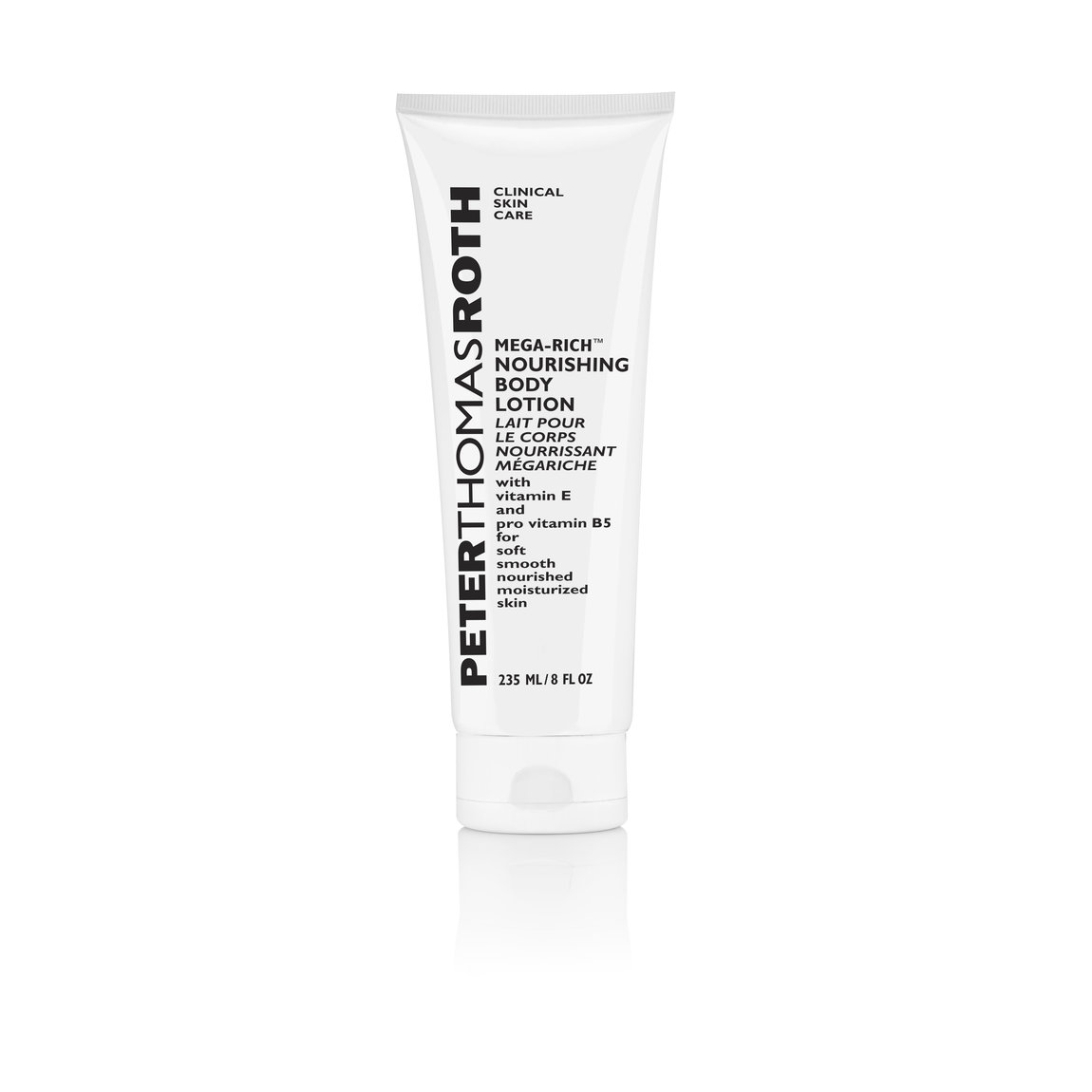 Peter Thomas Roth Mega-Rich Body Lotion product smear.