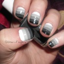 Grey Gradient Stripes