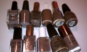 My favorite taupish, greyish, brownish, neutral nail color.