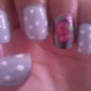 Vintage Rose Nails