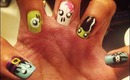 Eyeball Nail Tutorial - #2 of Halloween Mini Series!