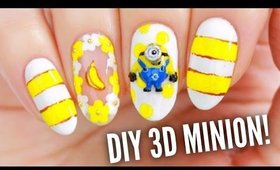 Make Your Own 3D Minion Nail Charm!