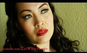 1940s Hedy Lamarr-Inspired Makeup