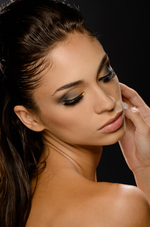 Make up: Reesie Brown Hair: Bilva Patel Model: Amanda David