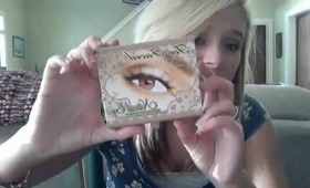 too faced natural eye palette review!