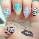 small stiletto nails