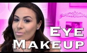 Daytime Eye Makeup Tutorial: Pink Eyeshadow Look