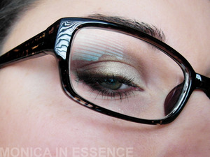 Easy eye look for daily uses http://monicainessence.blogspot.sk/2013/01/sedo-zlte-denne-licenie.html