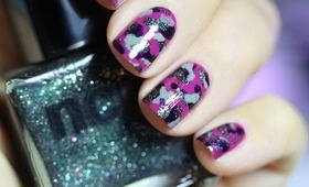 Nail Art Militaire x The Beautyst