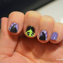 Maleficeint nails