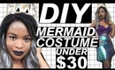 DIY MERMAID HALLOWEEN COSTUME | UNDER $30